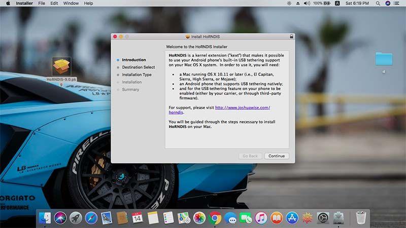 Tether Unlock Mac