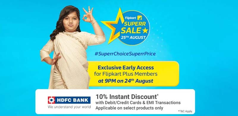 Flipkart Superr sale
