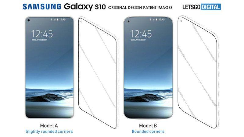Samsung-Galaxy-S10 display
