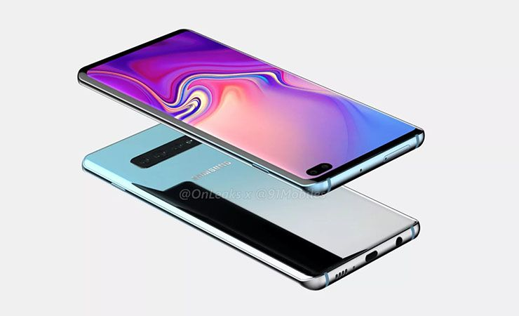 Samsung Galaxy S10 Plus Renders Leaked