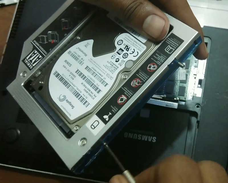 How To Replace your Laptop's DVD Drive with a 2nd HDD/SSD