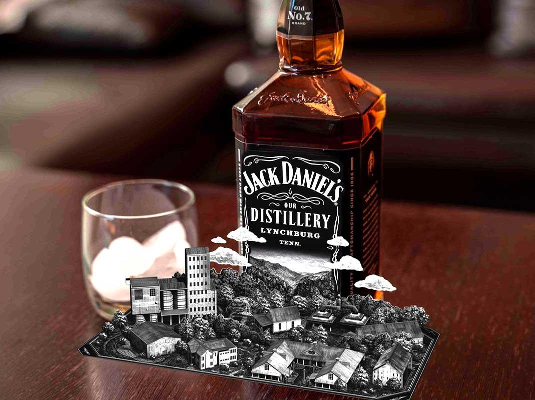 Jack Daniel's Augment Reality APP