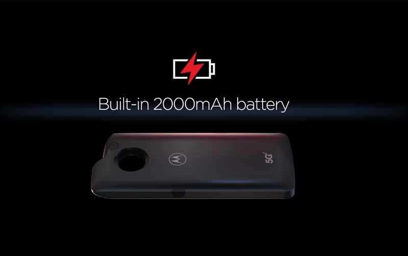 Moto Z3 with moto 5G mod
