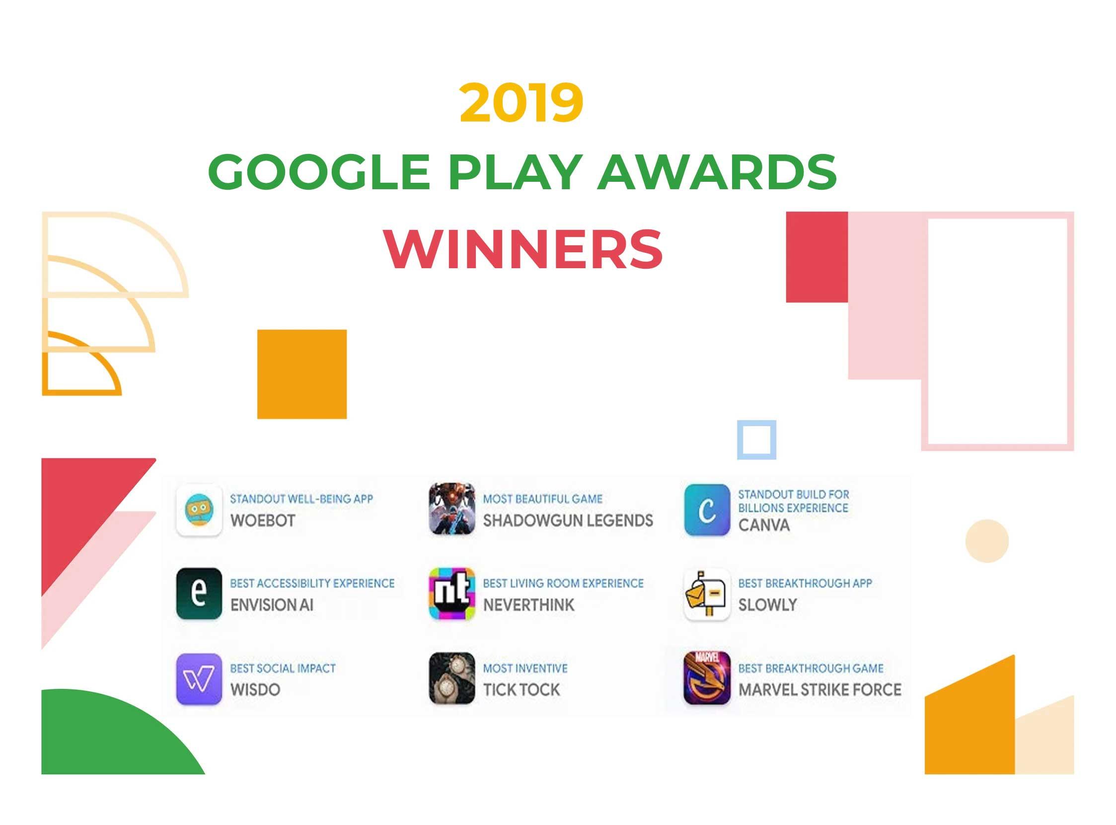 2019 Google Play Awards