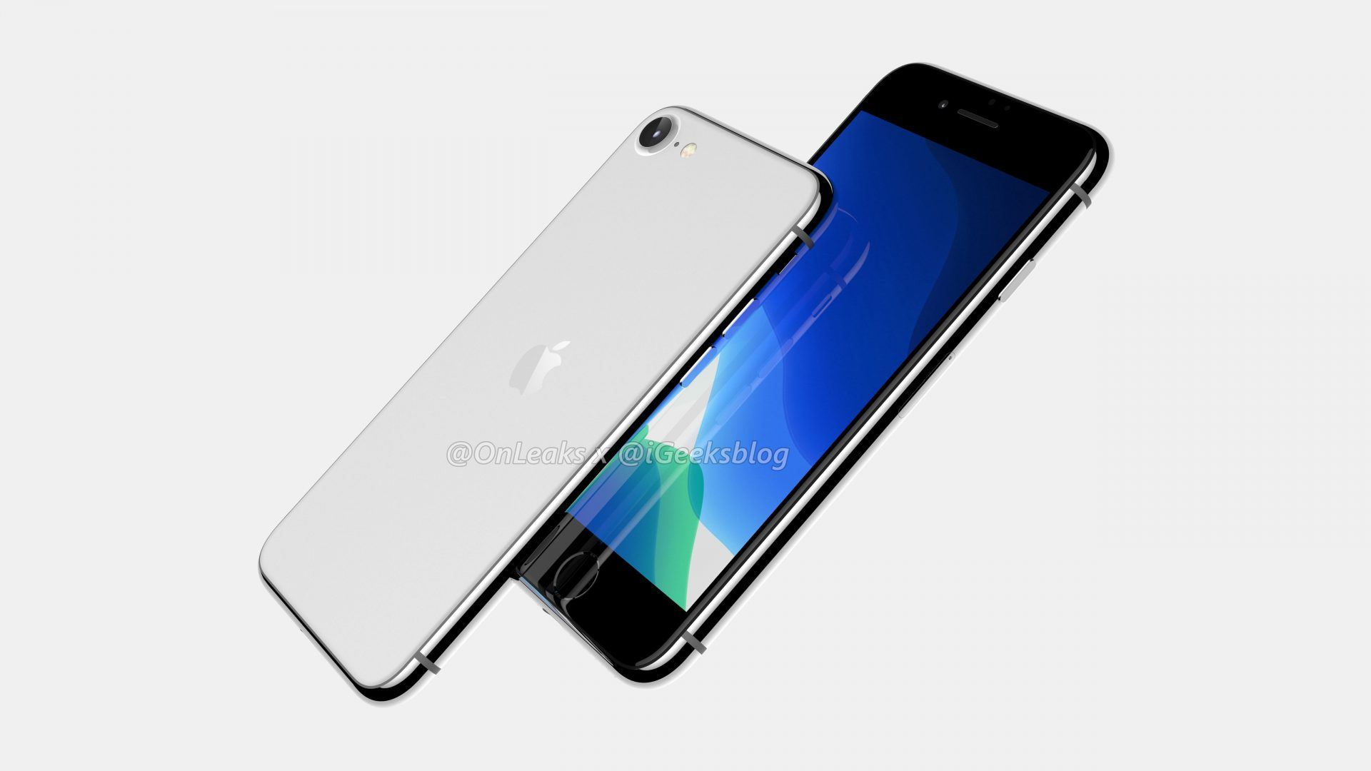iPhone 8 SE renders