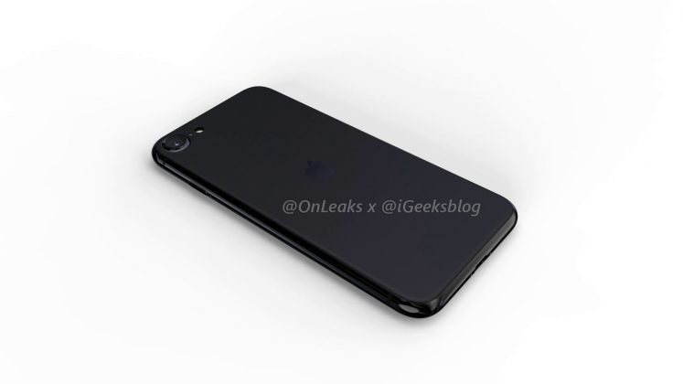 iPhone SE 2 render
